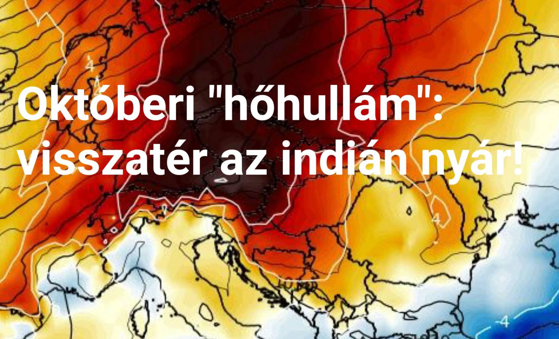 """Újabb """"hőhullám"""": visszatér az indián nyár! 8"""