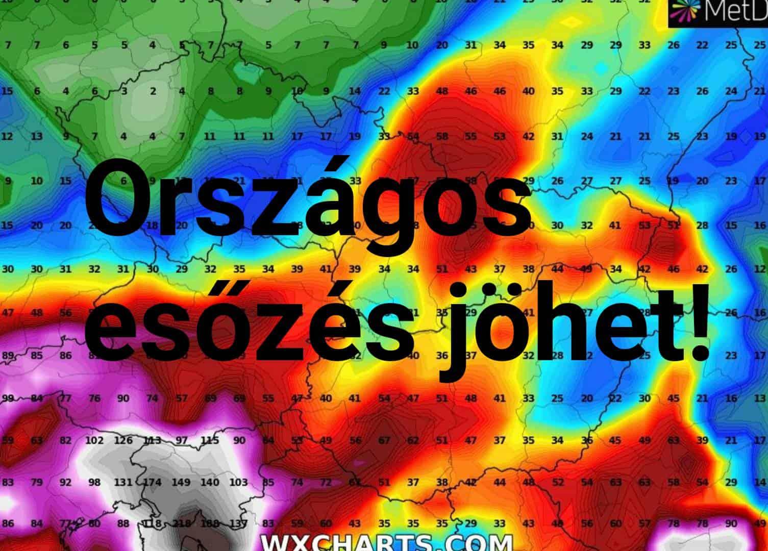 Országos esőzéssel indulhat a november, akár 30-50mm! 7