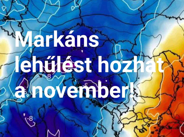 Markáns hidegbetörést hozhat a november! 4