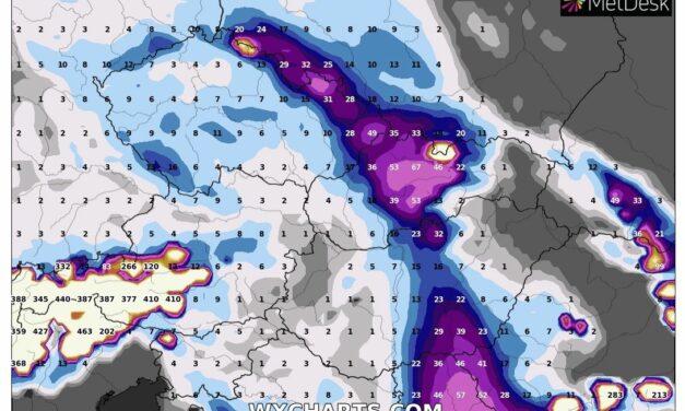 Komoly lehűlés és országos jelentős havazás jövőhéten?! (ECMWF vs. GFS)