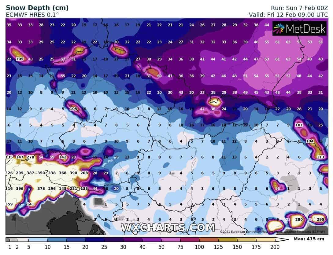 Érkezik a tél: 100km/h-s szél, havazás, -15, -20 fok! 9