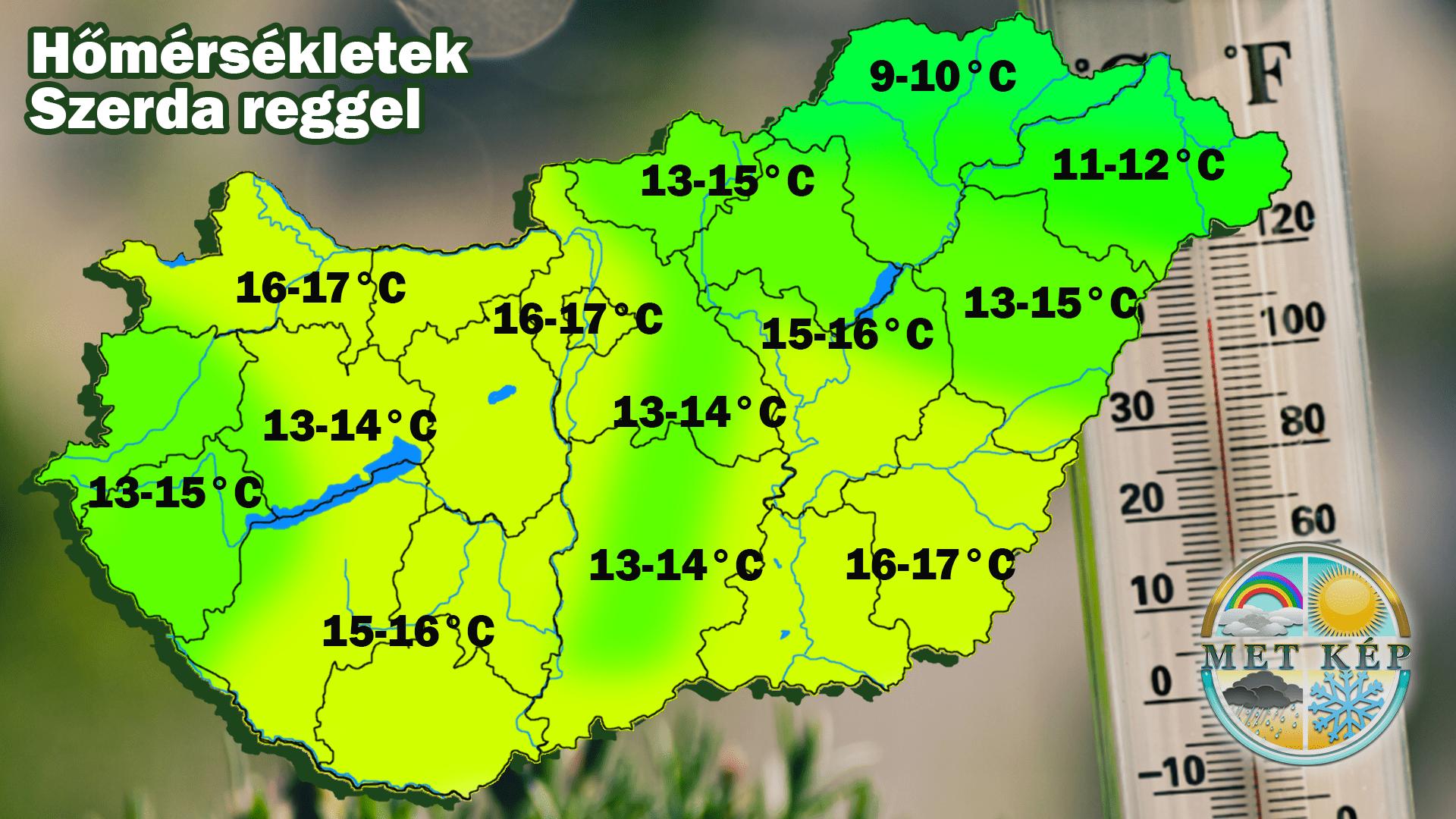 Milyen időjárás várható ma? 8