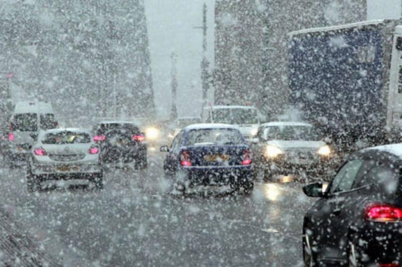 Következő órák: egyre több helyen várható havas eső, havazás! 1