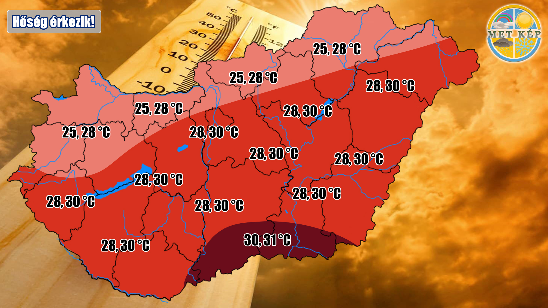 Hőség, és száraz időjárás! 2