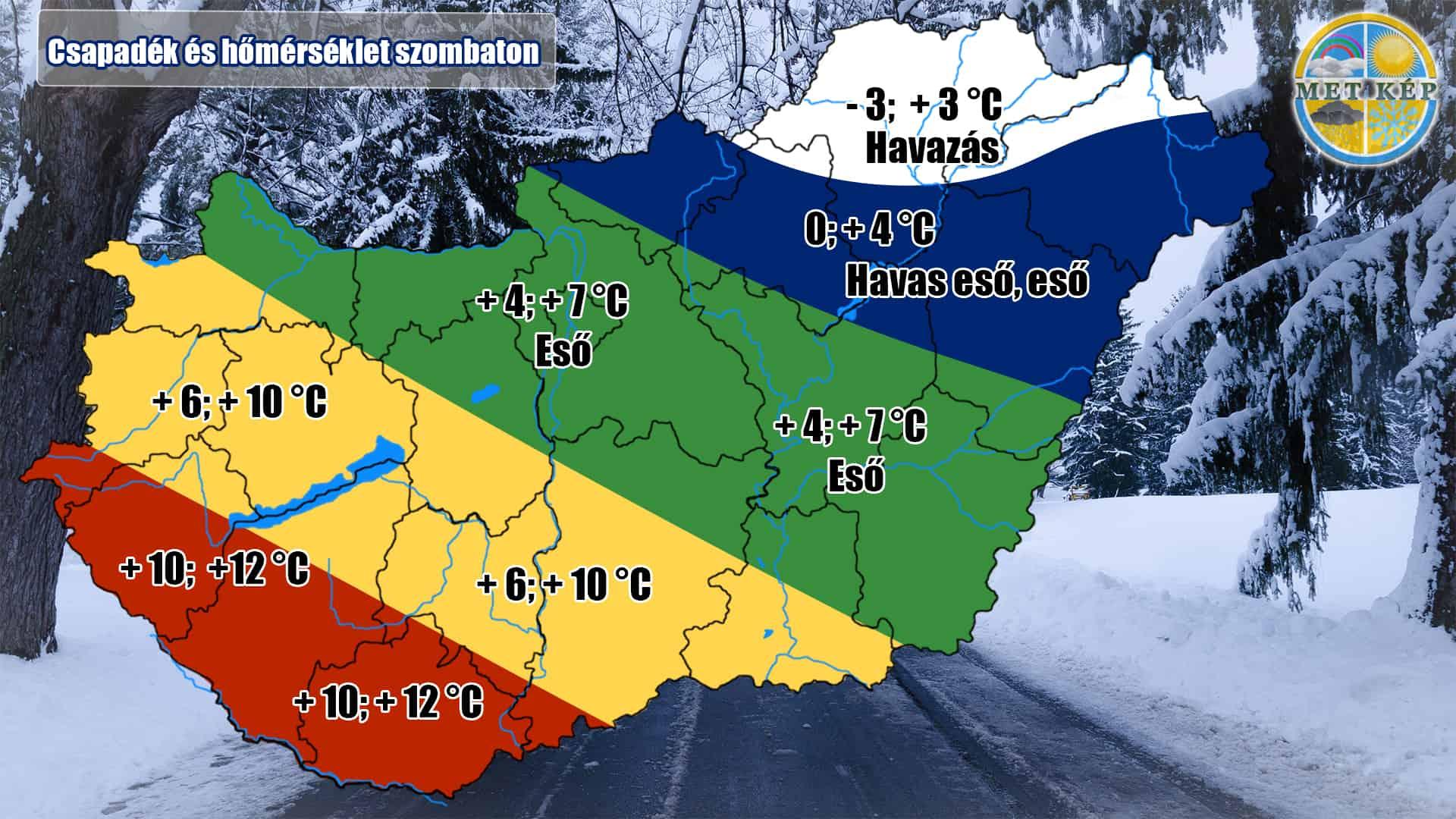 Hó Havazás északon