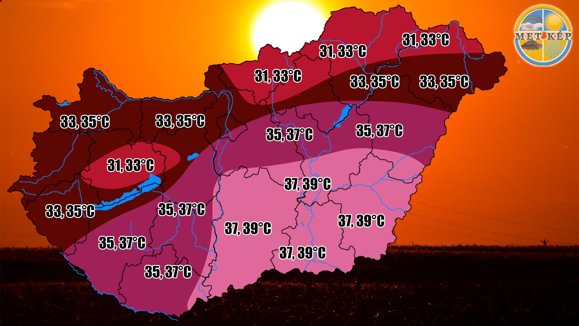 Közel 40 fokos hőség lesz ma! 3