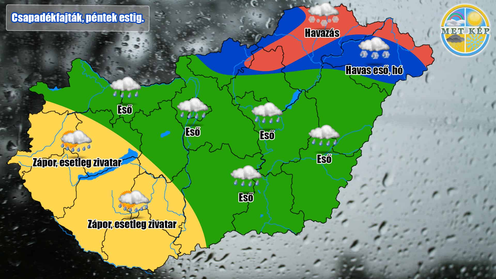 Éjszaka: havazás, havas eső, eső érkezik! 2