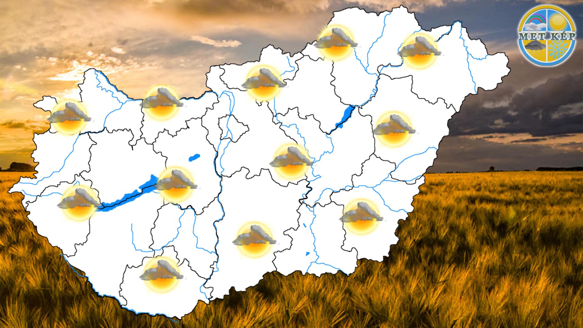 Ma: felhős, kellemetlenül hűvös idő lesz! 2