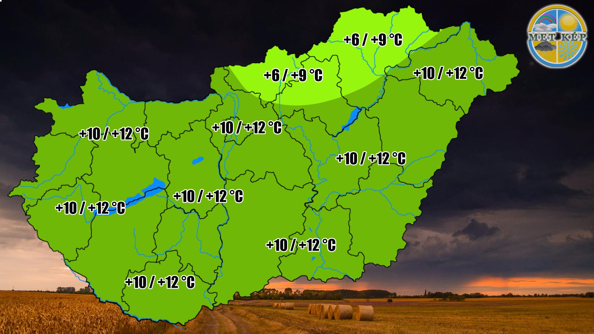Ma: hidegfront érkezik, a hegyekben már hózápor is lehet! 3
