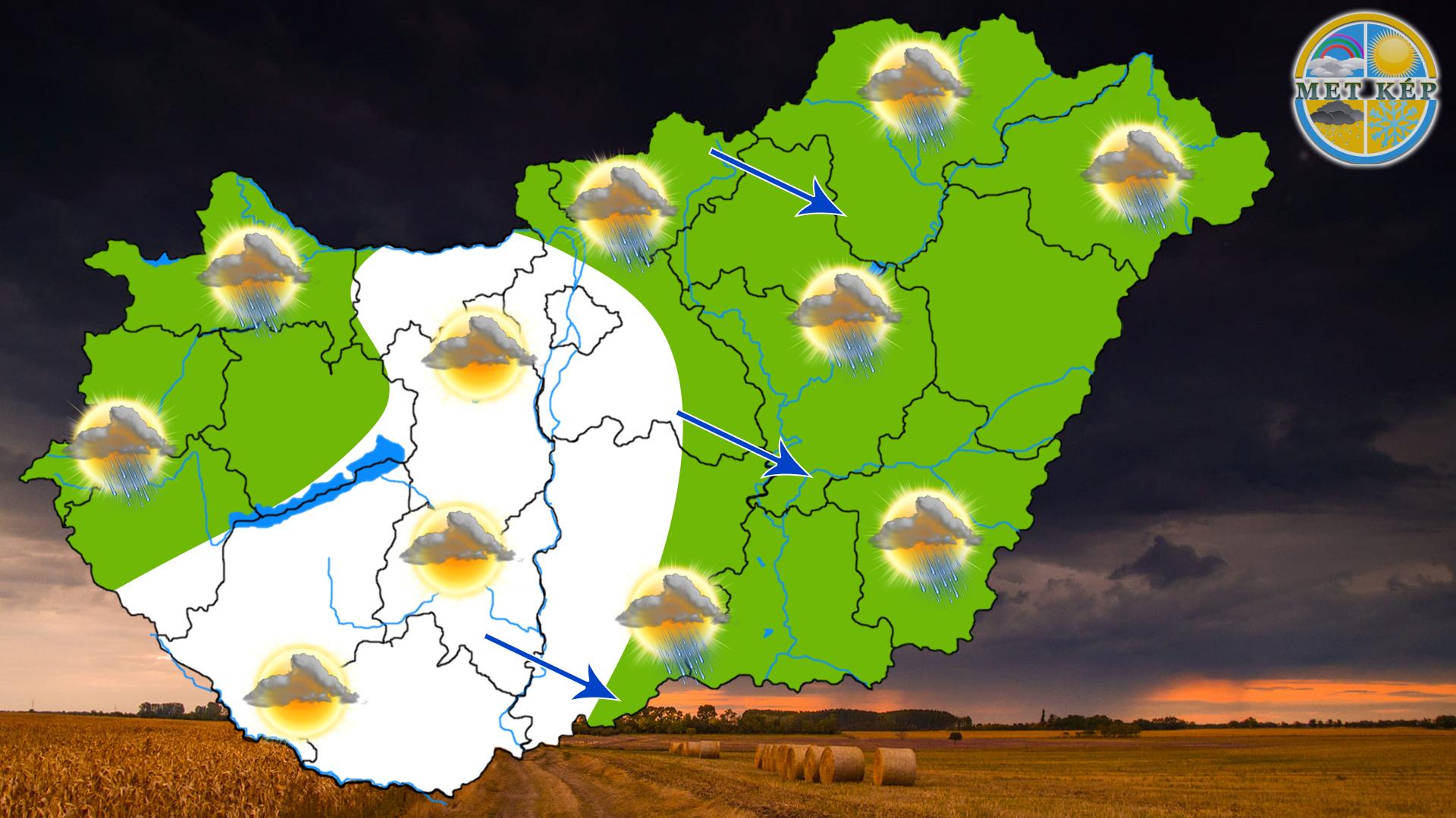 Ma: hidegfront érkezik, a hegyekben már hózápor is lehet! 2