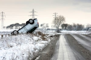 Baleseteket okozott a havazás Budapest környékén! 2