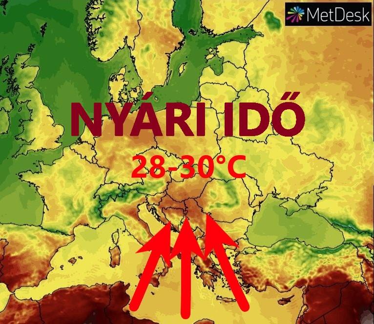 Hétvégén hőség! 1