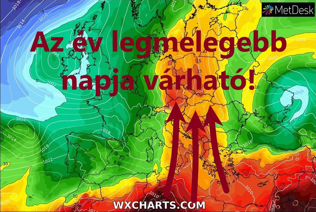 Az év eddigi legmelegebb napja! 1